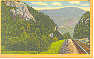 Elephants Head Crawford Notch NH  Postcard p17019 (Image1)