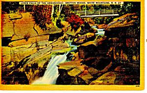 Falls Ammonoosuc, Bretton Woods ,NH Postcard (Image1)