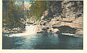 The Pool Franconia Notch  NH Postcard p17057 (Image1)