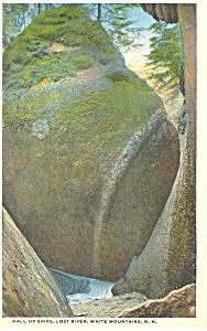Hall of Ships Lost River NH Postcard p17062 (Image1)