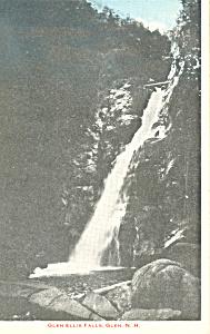 Glen Ellis Falls Glen NH Postcard p17066 (Image1)