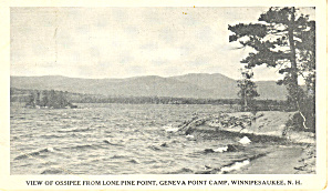 Geneva Point Camp,Lake Winnipesaukee ,NH  Postcard 1922 (Image1)
