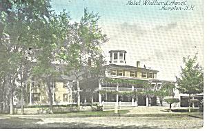 Hotel Whittier and Annex Hampton  NH   Postcard p17105 1914 (Image1)