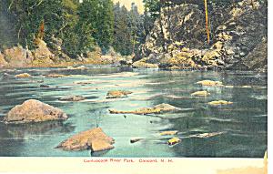 Contoocook River Park, Concord,NH   Postcard (Image1)