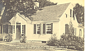 Next To Nothing House Dartmouth College Nh Postcard P17121