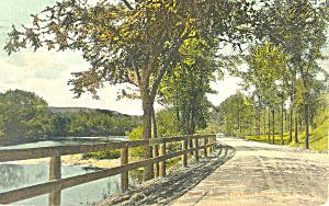 Rural Highway NH  Postcard p17126 (Image1)