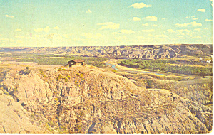 Badlands North Dakota Postcard 1965 (Image1)