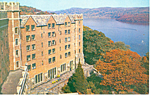 US Hotel Thayer, West Point  NY  Postcard (Image1)