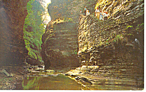 The Vista, Watkins Glen NY  Postcard (Image1)