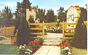Jackson Perkins Rose Garden Newark NY  Postcard p17229 (Image1)