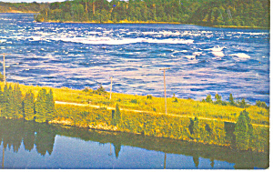 Power Project St Lawrence Seaway  NY  Postcard p17240 (Image1)