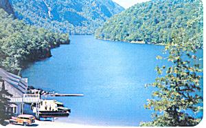 Ausable Lake Ausable Chasm NY  Postcard p17247 (Image1)
