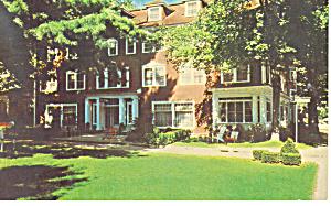 St Elmo Hotel, Chautauqua  NY  Postcard 1966 (Image1)
