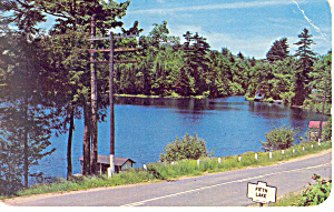 Fifth Lake Fulton Chain  NY  Postcard p17252 (Image1)