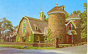 Farmers Museum Cooperstown NY Postcard p17258 1955 (Image1)