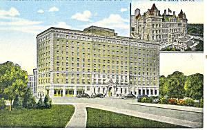 De Witt Clinton Hotel, Albany, NY Postcard (Image1)