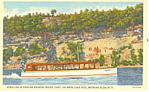 Stroller IV   Palmers Lake  Watkins Glen NY Postcard p17281 (Image1)