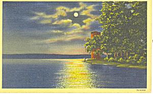 Miller Bell Tower Chautauqua NY Postcard p17294 (Image1)