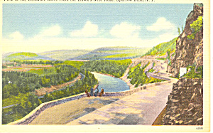 Delaware River From Sparrow Bush NY Postcard p17304 (Image1)