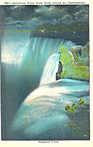 American Falls, Niagara Falls, NY Postcard (Image1)