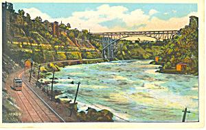 Whirlpool Rapids, Niagara Falls, NY Postcard (Image1)