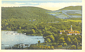 Otsego Amongst Hills Cooperstown NY  Postcard p17346 1926 (Image1)