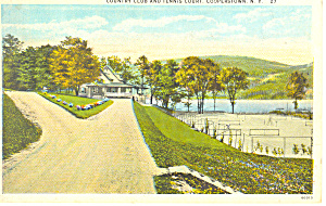 Country Club, Cooperstown NY  Postcard p17347 (Image1)