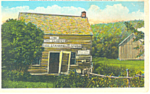 Oldest House Haines Falls NY  Postcard p17374 (Image1)