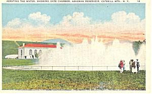 Ashokan Reservoir Catskills NY  Postcard p17375 (Image1)