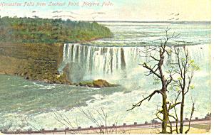 American Falls Niagara Falls NY  Postcard p17380 1911 (Image1)