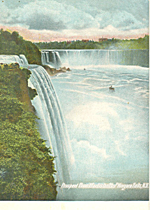 Prospect Point  Maid of the Mist Niagara Falls NY  Postcard p17383 (Image1)