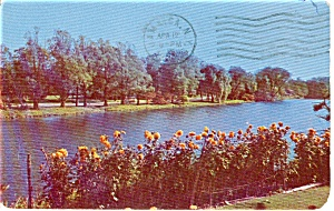 Stony Brook NY The Lake Postcard p1739 (Image1)
