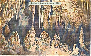 Big Room Carlsbad Caverns NM   Postcard (Image1)
