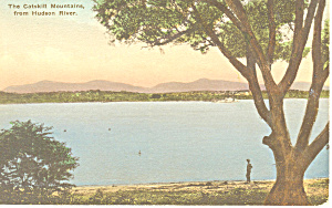Catskill Mountains Hudson River NY  Postcard p17412 (Image1)