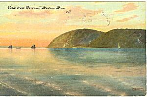 View From Narrows Hudson River NY  Postcard p17414 1907 (Image1)
