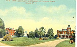 Smith s Observatory Geneva NY  Postcard p17424 (Image1)