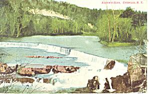 Austens Glen Catskills NY Postcard p17435 (Image1)