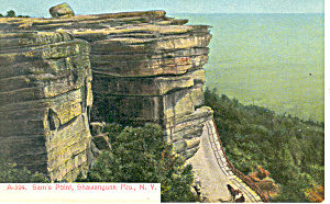Sams Point shawangunk Mountain Ny Postcard P17438 1910