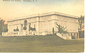 Memorial Art Gallery Rochester NY Postcard p17454 (Image1)