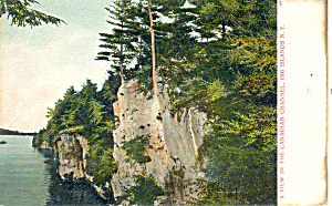 Canadian Channel Thousand Islands Ny Postcard P17470