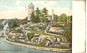 Hopewell Hall Thousand Islands NY  Postcard p17471 (Image1)