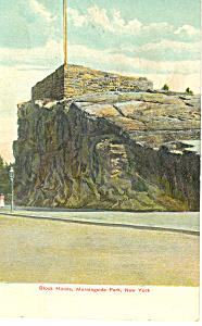 Block House Morningside Park NY Postcard p17474 (Image1)