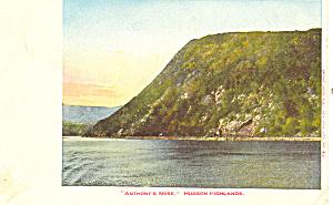 Anthony s Nose Hudson River NY  Postcard p17481 (Image1)