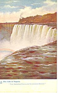 Niagara Falls NY  Tuck Postcard p17497 (Image1)