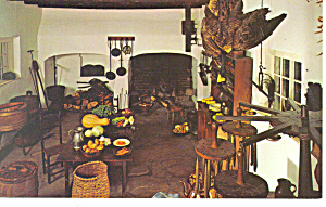 Old Salem Kitchen Winston Salem NC Postcard p17514 (Image1)