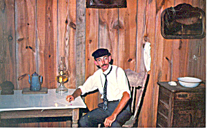 Orville Wright at Home Kill Devil Hills NC   Postcard p17519 (Image1)