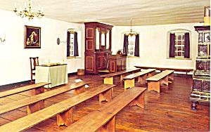 Chapel Winston Salem  NC   Postcard p17523 (Image1)