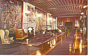 Tapestry Gallery Biltmore House NC   Postcard p17526 (Image1)