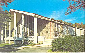 Spilman Auditorium Ridgecrest NC   Postcard p17531 (Image1)