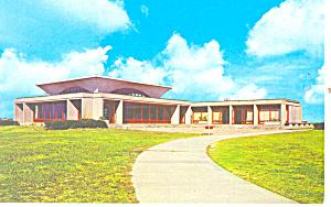 Wright Visitor Center Kill Devil Hills NC   Postcard p17533 (Image1)